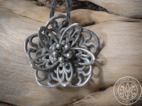 Blossom #3 in Polished Bronzed Silver Steel