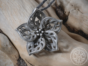 Blossom #6 in Polished Bronzed Silver Steel