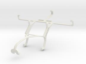 Controller mount for Xbox 360 & ZTE Nubia Z5S mini in White Natural Versatile Plastic