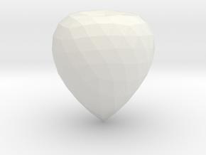 Acorn in White Natural Versatile Plastic
