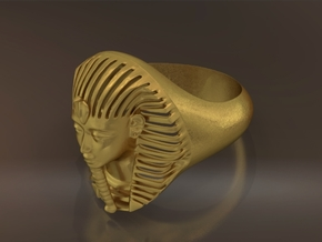 Bague Pharaon - Pharaoh ring in Natural Bronze