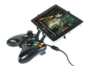 Xbox 360 controller & Alcatel One Touch Tab 7 in Black Natural Versatile Plastic