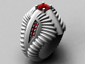 Predator Ring - Size 12 (21.49 mm) in Polished Silver