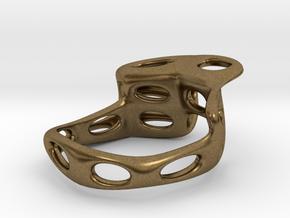 S4r021s7 GenusReticulum in Natural Bronze