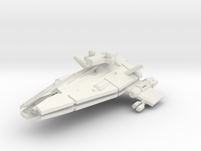 Vanquisher Class Frigate  in White Natural Versatile Plastic