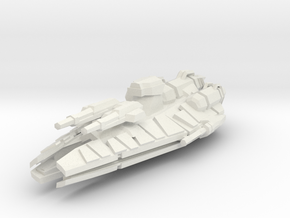 Conqueror Class Frigate  in White Natural Versatile Plastic
