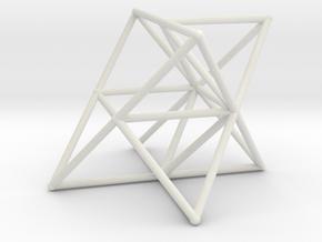 Rod Merkaba Supports OpenBase 2cm in White Natural Versatile Plastic