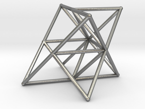 Rod Merkaba Supports OpenBase 2cm in Natural Silver