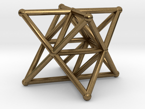 Rod Merkaba Supports 3cm in Natural Bronze