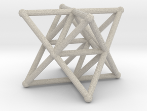 Rod Merkaba Supports 3cm in Natural Sandstone