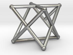 Rod Merkaba OpenBase 3cm in Natural Silver