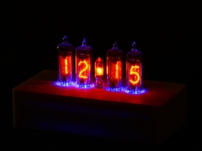 Case for NCV3.1-16 Nixie Tube Clock in White Natural Versatile Plastic