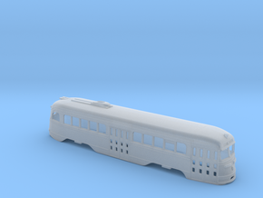 N Scale Prewar PCC TTC BODY #1 in Smooth Fine Detail Plastic