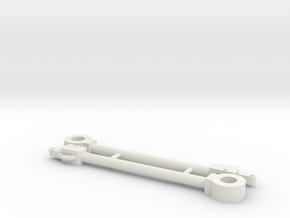 Albertkupplung Paar Spur 0 M 1:43,5 in White Natural Versatile Plastic