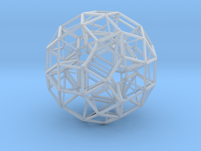 Dodecahedron .06 5cm in Smooth Fine Detail Plastic