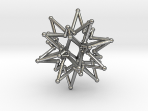 StarCore 2 Layers - 2.6cm in Natural Silver
