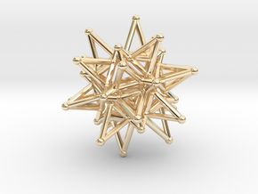 Tessa1 StarCore 2-2cm in 14K Yellow Gold