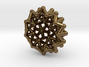 Tessa2 Half WireBalls - 1cm in Natural Bronze