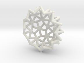 Tessa2 Half WireBalls 2cm in White Strong & Flexible