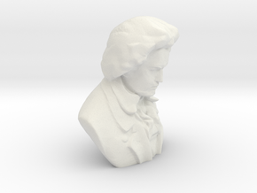 Ludwig Van Beethoven in White Natural Versatile Plastic