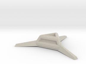 Sharp Merkaba Stand - 3cm in Natural Sandstone