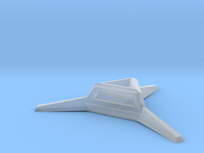 Sharp Merkaba Stand - 3cm in Smooth Fine Detail Plastic