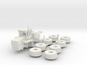 1:160/N-Scale Steiger Panther 325 On Duals in White Natural Versatile Plastic