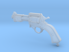 Steam Punk Pistol Rev2 in Smooth Fine Detail Plastic