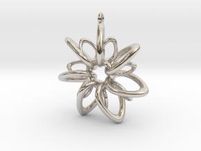 RingStar 7 points - 5cm, Loopet in Platinum