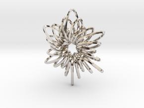 RingStar Twist 6 Points - 5cm in Platinum