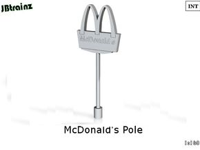 McDonalds pole-5cm (n-scale) in Frosted Ultra Detail
