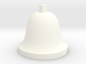 Bell in White Processed Versatile Plastic