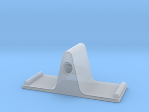 Eyeglass Stand II in Smooth Fine Detail Plastic