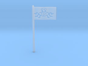FSM Flag for Starch-Bishop's Palace in Smooth Fine Detail Plastic