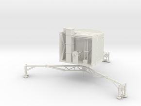 Philae - ESA Comet Lander 20:1 Scale Model in White Natural Versatile Plastic