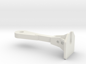1:24 Nzr Coupler - Square in White Strong & Flexible