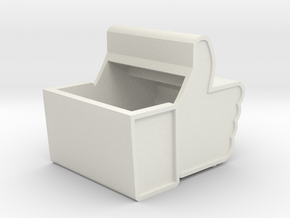 Facebook Box in White Strong & Flexible