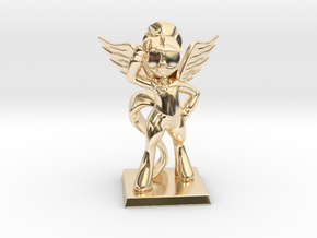 My Little Pony - Twilight CommanderEasyglider 10cm in 14K Yellow Gold