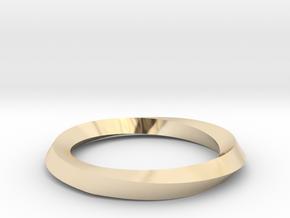 Mobius Wedding Ring-Size 6 in 14K Yellow Gold
