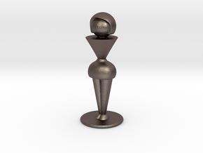 Trophy Wife in Polished Bronzed Silver Steel