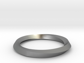 Mobius Wedding Ring-Size 8 in Natural Silver