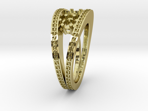 Split Ring in 18k Gold
