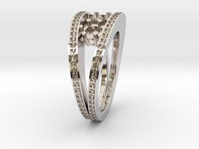 Split Ring in Platinum