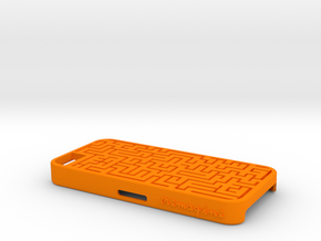 Maze in Orange Strong & Flexible Polished