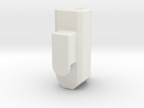 Bee Brake Cap in White Natural Versatile Plastic