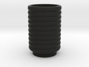 Rebels Comlink Cylinder in Black Natural Versatile Plastic