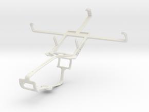Controller mount for Xbox One & XOLO Q800 X-Editio in White Natural Versatile Plastic