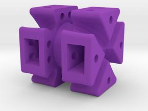 Dice66 in Purple Processed Versatile Plastic