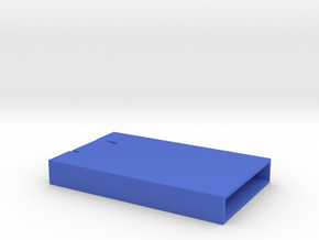Business Card Tray Launcher in Blue Processed Versatile Plastic