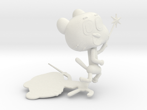 The Amazing World of Gumball in White Natural Versatile Plastic